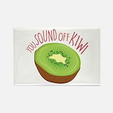 Sound Off Kiwi Magnets