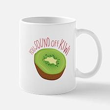 Sound Off Kiwi Mugs