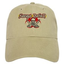 Savage Nation Pirate Baseball Cap