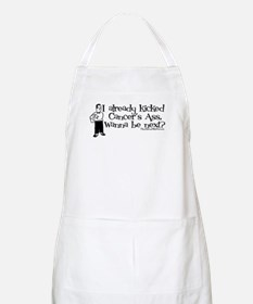 Kicked Cancer's Ass BBQ Apron
