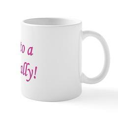 Grandma of a Girl... Finally! Mug