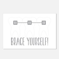 Brace Yourself Postcards (Package of 8)