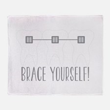 Brace Yourself Throw Blanket