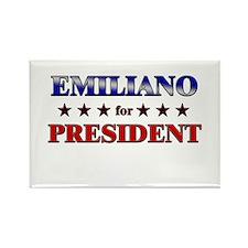 EMILIANO for president Rectangle Magnet