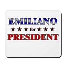 EMILIANO for president Mousepad