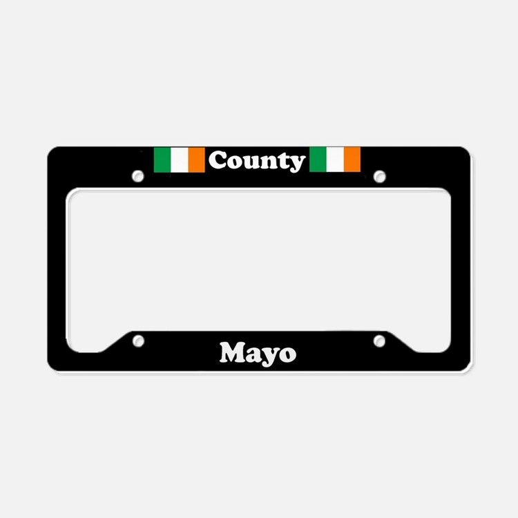 County Mayo - LPF License Plate Holder