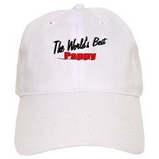 """""""The World's Best Pappy"""" Baseball Cap"""