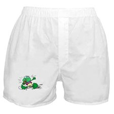 Singing Frog with Microphone Boxer Shorts