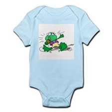 Singing Frog with Microphone Infant Bodysuit