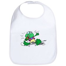 Singing Frog with Microphone Bib
