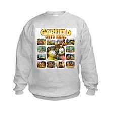 Garfield Gets Real Sweatshirt