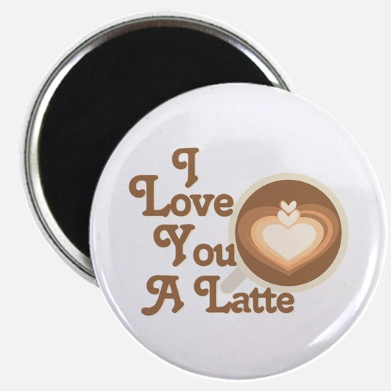 Love You Latte Magnets