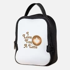 Love You Latte Neoprene Lunch Bag