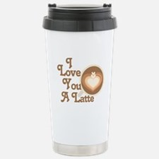 Love You Latte Travel Mug