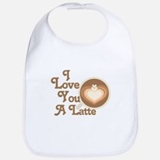 Love You Latte Bib