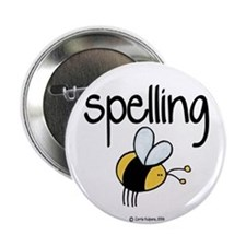"Spelling Bee II 2.25"" Button"