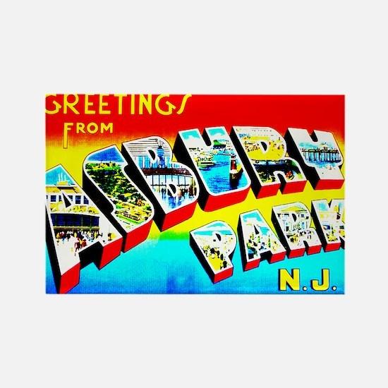 Asbury Park Greetings Magnets