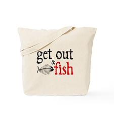 Get Out & Fish Tote Bag