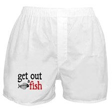 Get Out & Fish Boxer Shorts