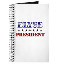 ELYSE for president Journal