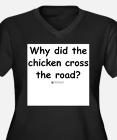 Chicken Front Plus Size T-Shirt