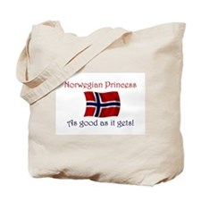 Norwegian Princess Tote Bag