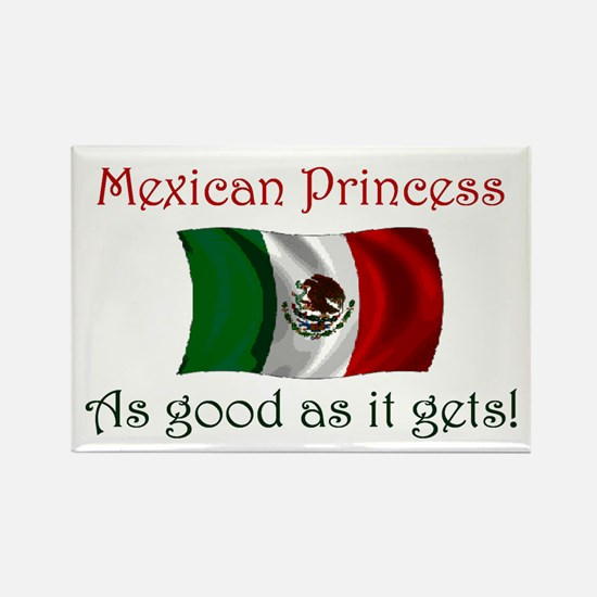Mexican Princess Rectangle Magnet