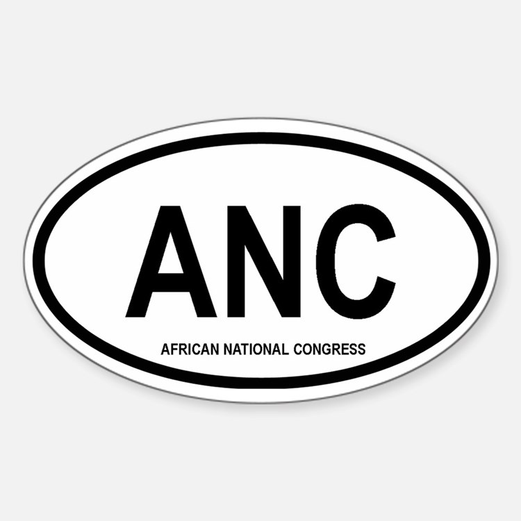 ANC Oval Decal