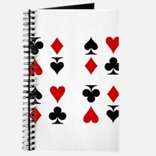 Poker Cards Suits Journal