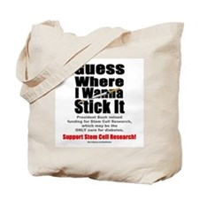Stick It Tote Bag