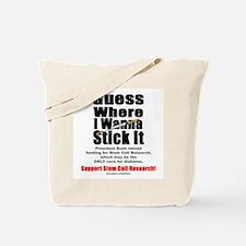 Stick It Tote Bag