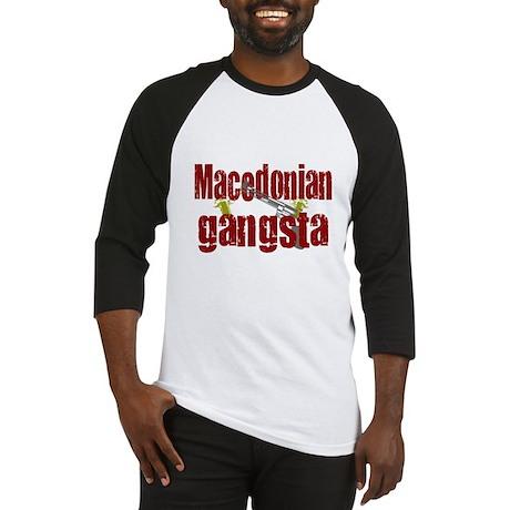 Macedonian Gangsta Baseball Jersey