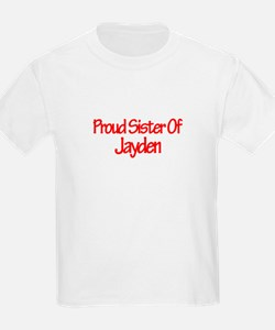 Proud Sister of Jayden T-Shirt