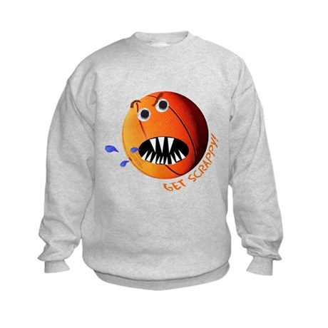 Scrappy Basketball Kids Sweatshirt