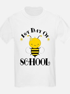 1st Day Of School Honey Bee T-Shirt
