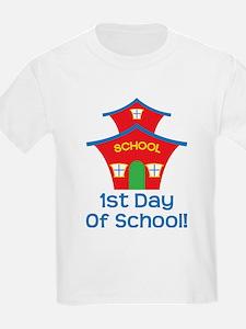 1st Day Of School Kids T-Shirt