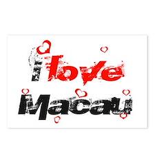 I love Macau Postcards (Package of 8)