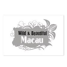 Cute Macau vintage Postcards (Package of 8)