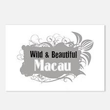 Funny Macau vintage Postcards (Package of 8)