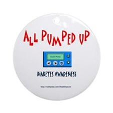All Pumped Up Ornament (Round)