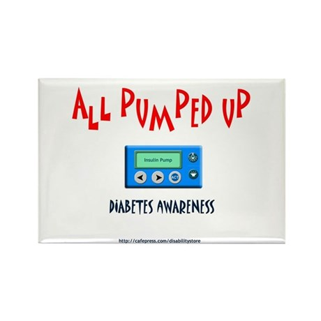 All Pumped Up Rectangle Magnet