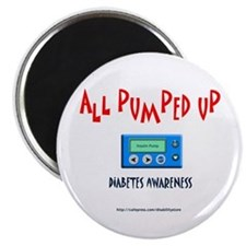 All Pumped Up Magnet