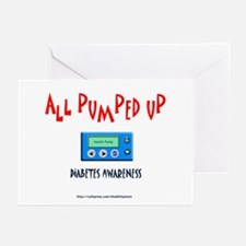 All Pumped Up Greeting Cards (Pk of 10)