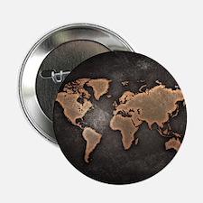 "World Map 2.25"" Button (10 pack)"