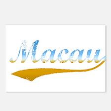 Beach Macau Postcards (Package of 8)
