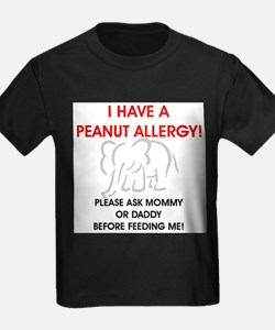 Peanut Allergy Don't Feed Me T-Shirt