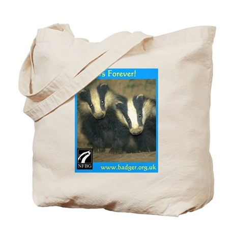 Badgers Forever Badger Tote Bag