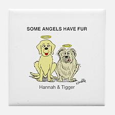 Hannah & Tigger Coaster