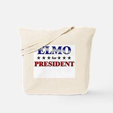 ELMO for president Tote Bag