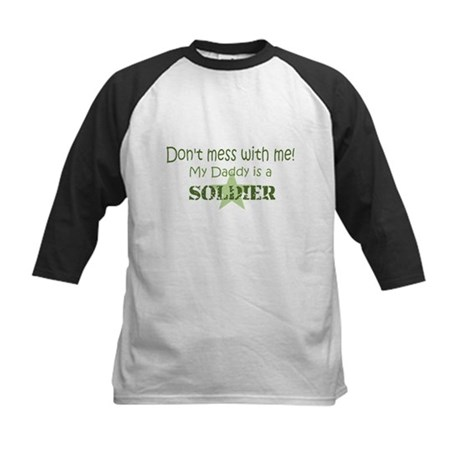 Don't mess with me Kids Baseball Jersey